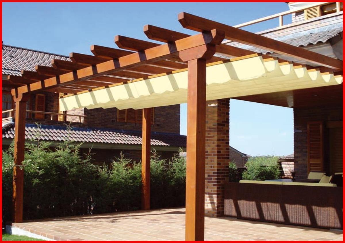 Toldos leiria alislux toldos cofre toldos verticais for Como hacer una terraza rustica